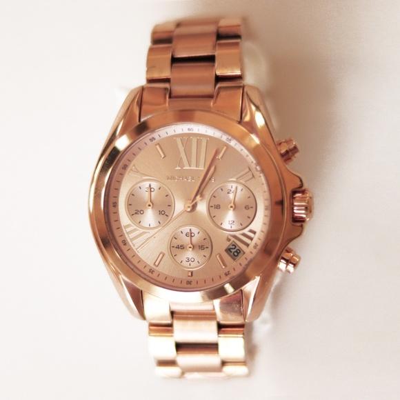 57d2a93cb882 Michael Kors Rose Gold Stainless Steel Watch. M 5c36e60dd6dc52f1bd03629d